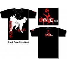 DOJO Bar KICK BLACK t-shirt