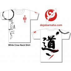DOJO Bar KOBUDO WHITE t-shirt